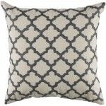 $124.00  Rizzy Home - Gray and Ivory Decorative Accent Pillows (Set of 2) - T04064