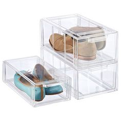 Clear Shoe Drawers.  Great for Essential Oil Storage.  Sort your oils and blends by drawer.  Add another drawer for accessories.