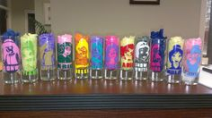 12 Customized Shot Glasses by PrintandEventDesign on Etsy, $40.00