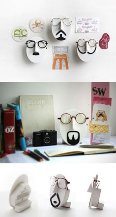 352e98bc6058 Looking for unique   fun decoration item  Here is Mustache Glasses Stand!  You can