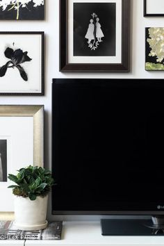 10 Clever Ways to Make Your TV Less Hideous  #purewow #home #decor