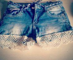 Shorts ide #shorts #Diy #Diyclothes #clothes