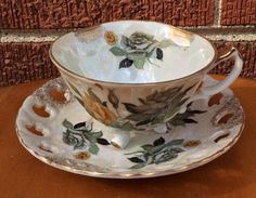 Vintage Tea CUp and Saucer/ Coffee Cup / by ThroughPlacesandTime
