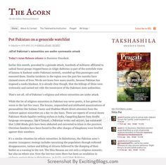 The Acorn | On the Indian National Interest - Click to visit site:  http://1.33x.us/HXdfFt
