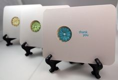 Prototype thank-you card set for my daughter's birthday.  :)