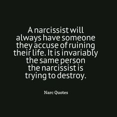 Narcissists are always playing the victim! Everyone does them wrong (not). In reality those who went out of their way to help them are accused of destroying their lives. Narcissistic abuse hurts we can heal loves this Pin Thanks Abuse Narcissistic People, Narcissistic Mother, Narcissistic Behavior, Narcissistic Sociopath, Narcissistic Personality Disorder, Narcissistic Victim Syndrome, Sociopath Traits, Just In Case, Just For You