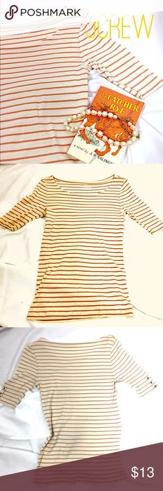 J Crew Perfect Fit Scoop Neck Soft Tee- SMall So soft and in great condition- grab this for summer! jcrew Tops Tees - Short Sleeve