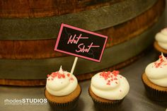 Drunken cupcakes by Party Flavors, Hot Shot