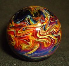 James Holt Marbles, JEH marble,1..31 inch handmade glass, surface work 2