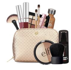 """""""What's in my makeup bag! #1"""" by charley-mone on Polyvore featuring beauty, L'Oréal Paris, NYX, Too Faced Cosmetics, Tory Burch, e.l.f. and NARS Cosmetics"""