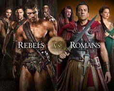 Spartacus. I'm doing a complete re-watch of this series, and it is indeed as awesome as I originally thought. :-D