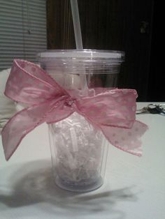 Prize for baby shower games. Fill it with whatever goodies you want!!