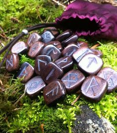 We use Rune stones like these when looking for direction with the Eye of the Oracle.