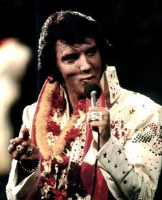 "Elvis Presley -- ""Aloha From Hawaii,"" 1973"