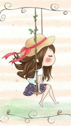 Image discovered by 𝐆𝐄𝐘𝐀 𝐒𝐇𝐕𝐄𝐂𝐎𝐕𝐀 👣. Find images and videos about girl, fashion and cute on We Heart It - the app to get lost in what you love. Cartoon Cartoon, Cute Cartoon Girl, Art And Illustration, Cute Images, Cute Pictures, Anime Art Girl, Belle Photo, Cute Wallpapers, Cute Drawings