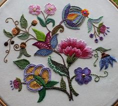 Marvelous Crewel Embroidery Long Short Soft Shading In Colors Ideas. Enchanting Crewel Embroidery Long Short Soft Shading In Colors Ideas. Bordado Jacobean, Crewel Embroidery Kits, Embroidery Flowers Pattern, Hardanger Embroidery, Embroidery Patterns Free, Silk Ribbon Embroidery, Vintage Embroidery, Machine Embroidery Designs, Bordado Floral