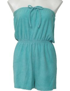 The uniform of summer in the early #80s!  You know you had one just like this :)  Terrycloth romper.  http://www.liketotally80s.com/terrycloth-shorts.html