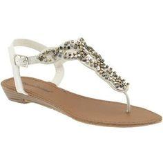 Pierre Dumas Leslie 12 Flats Sandals