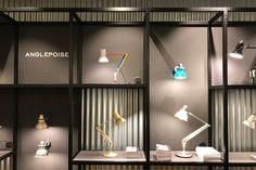 Anglepoise Clerkenwell Showroom with Unibox Displays, London – UK