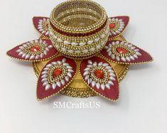 Christmas Party Decorations, Diwali Decorations, Festival Decorations, Wedding Decorations, Tea Light Candles, Tea Lights, Diy Candles, Diya Decoration Ideas, Acrylic Rangoli