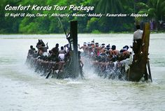 Enjoy 7 days and 8 night back water tour in Kerala with Kerala Tour pckages