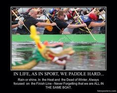 Yes!! Boating Quotes, Dragon Boat Festival, Paddle Boat, Rowing, How To Raise Money, Canoe, The Past, Humor, Paddles