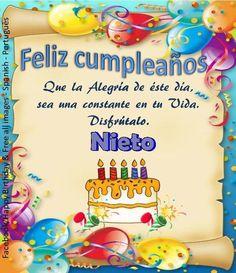 Nieto┌iiiii┐Felíz Cumpleaños ┌iiiii┐