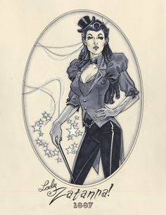 The Other Side blog: Zatannurday: Steampunk Zatanna
