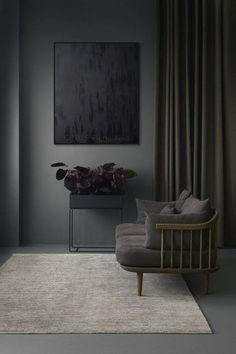 New Dark Grey Bedroom Furniture Room Colors Ideas Living Room White, Living Room Grey, Living Room Sofa, Living Room Modern, Grey Room, Dining Room, Living Room Decor Colors, Living Room Plants, Grey Bedroom Furniture