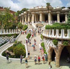 Park Güel, Barcelona/ Unesco Word Heritage List