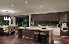 Metricon kitchen - Design, Caesar stone bench