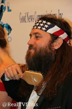 Willie Robertson, Backstage Movieguide Awards Gifting Suite