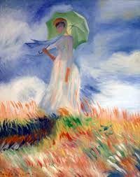 mujer con paraguas en la pintura - Buscar con Google