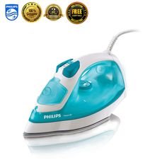 Philips GC2910 Garment Steamer Fabric Powerful Steam Iron Clothes Laundry New #Philips