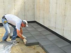 Using Foamglas instead of polystyrene to insulate beneath our basement slab and on the foundation walls.