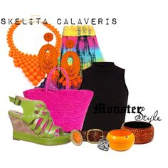 Monster Style : Skelita Calaveris by missm26 on Polyvore
