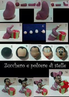 Baby Minnie Mouse Opening Gift Picture Tutorial