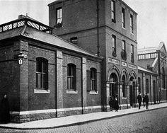 The old Tara Street wash house Dublin