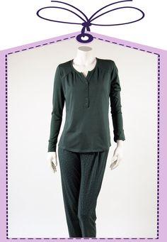 dark green pyjama by Cyell online at www.pyjama-und-co.com