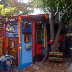 Colorful Children's Playhouse