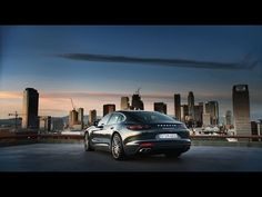 The new Panamera – Engine and transmission - YouTube