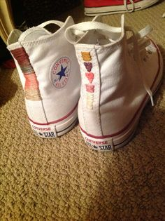 Free People embroidered Chuck Converse