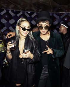 [INSTAGRAM] Mino and CL at PHIATON X TEDDY Launching Party