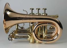 """Recording"" trumpet (F.E. Olds / DeCarlis-conversion to pocket 1971/2009)"
