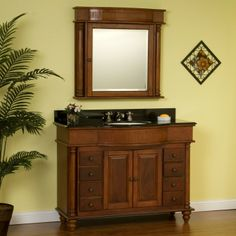 "48"" George Washington Vanity with Medicine Cabinet - Bathroom Vanities - Bathroom"