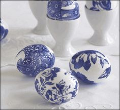 How to Decoupage Eggs at SaveOnCrafts