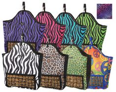 Tough 1 Slow Feed Hay Pouch in Fun Prints