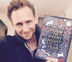 Another fan of the wonderful Poem For Every Night of the Year by @AllieEsiri! We're so pleased you enjoyed, @twhiddleston
