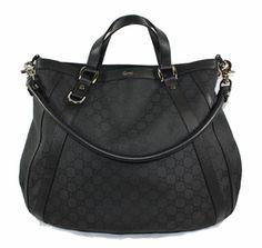 www.queenbeeofbeverlyhills.com Gucci Abbey Convertible Bag Black | Designer Handbags | Queen Bee of Beverly Hills - Gucci Handbags $895.00