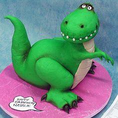 Yeners Cakes - Rex The Dinosaur Cake